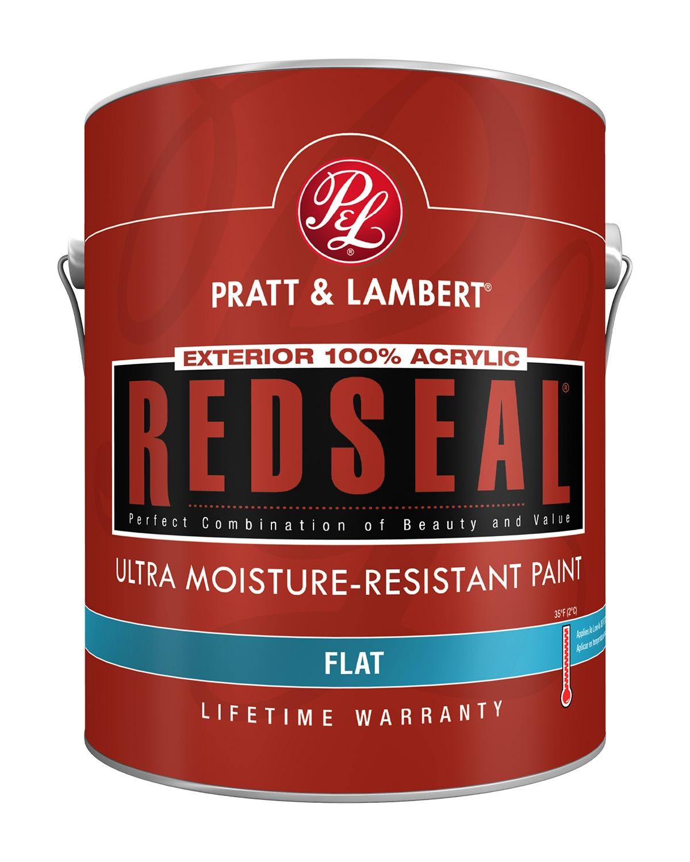 Pratt & Lambert RedSeal® Exterior Ultra-Moisture Resistant Waterborne