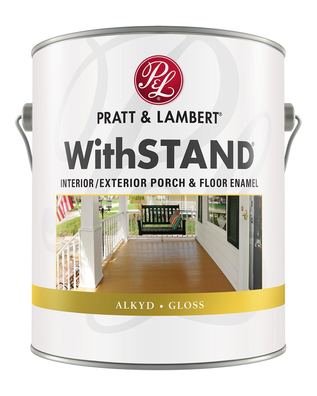 Pratt & Lambert Withstand® Interior/Exterior Alkyd Gloss Floor Enamel
