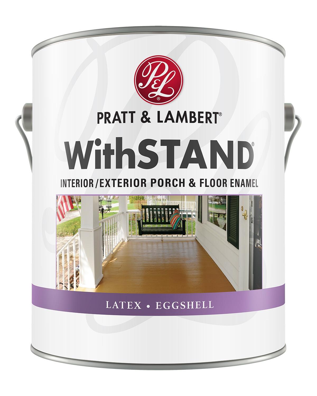 Pratt & Lambert WithSTAND Interior/Exterior Acrylic Latex Eggshell Floor Enamel