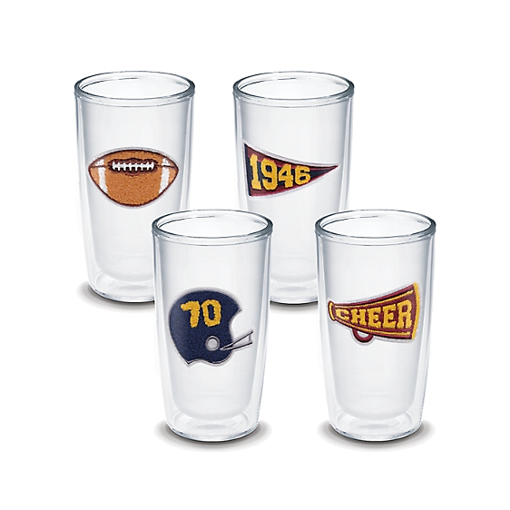 Tervis 70th Celebration Sports 4 Pack Gift Set