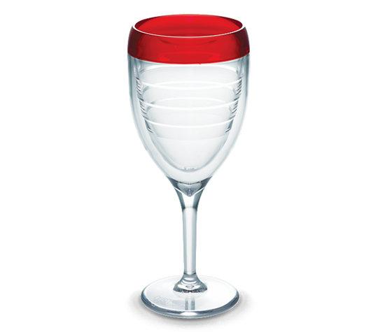 Tervis Wine Glass Cherry Fizz 9oz