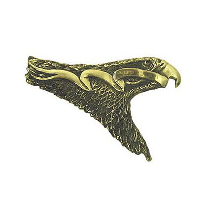 Liberty Artworks Cast Bronze Solid Helmet Eagle
