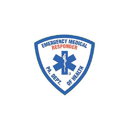 PA First Responder Reflective Decal