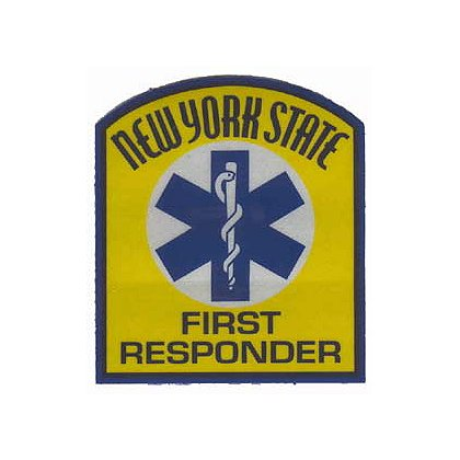 New York State First Responder Reflective Decal