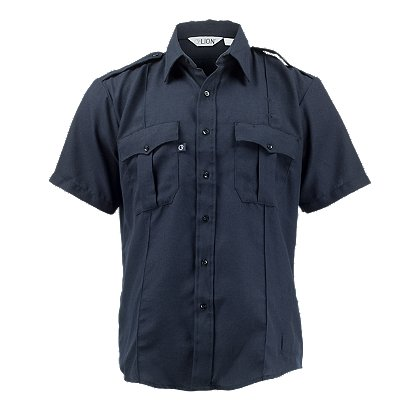 LION StationWear Bravo Short Sleeve Uniform Shirt, NOMEX IIIA