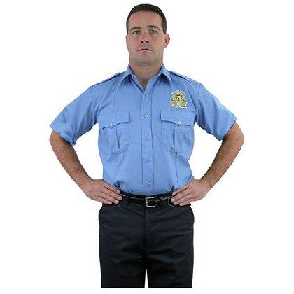 LION StationWear Bravo Short Sleeve Uniform Shirt, 100% Cotton