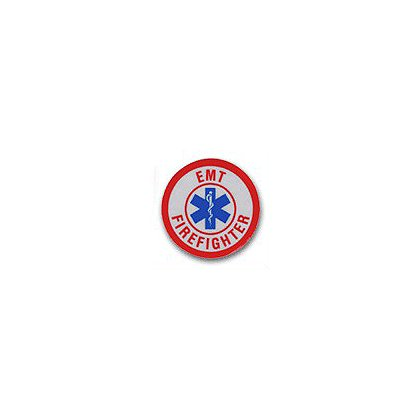 EMT/Firefighter Reflective Decal 1-3/4