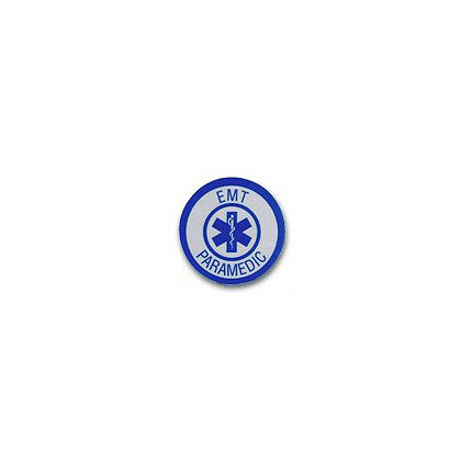 EMT/Paramedic Reflective Decal 1-3/4