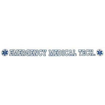 INSIDE WINDOW DECAL, EMERGENCY MEDICAL TECH