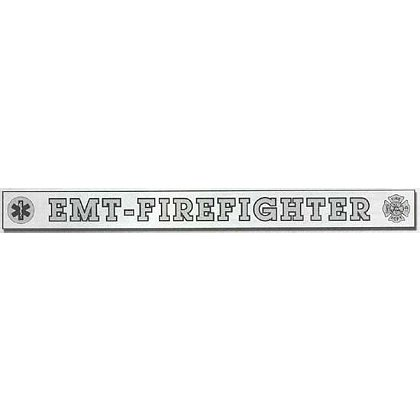 INSIDE WINDOW DECAL, EMT-FIREFIGHTER