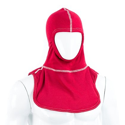 Majestic PAC II 3-Ply 100% Red Nomex Instructor's Hood, NFPA 1971-2013
