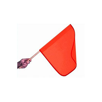 Dicke Mesh Warning Flag, 18