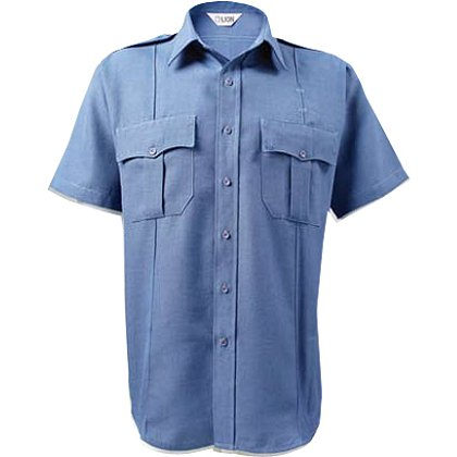LION StationWear Bravo Short Sleeve Uniform Shirt, Poly/Cotton