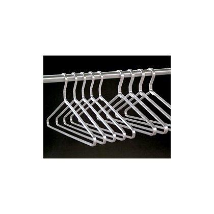 Glaro Aluminum Coat Hanger, Open Loop