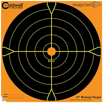 Caldwell Orange Peel Bullseye Targets
