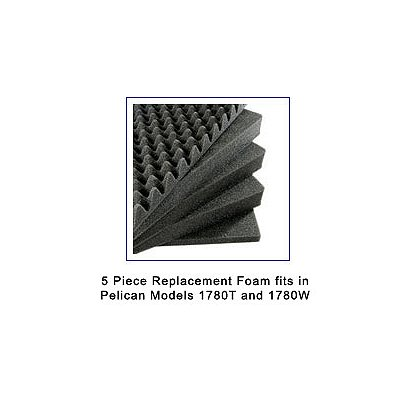 Pelican 5 Layer Replacement Foam for Model 1780T