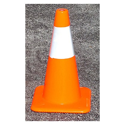 TheFireStore Traffic Safety Cone, Tri-Glo Series, 18