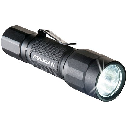 Pelican 2350 ProGear LED Flashlight, AA Battery, 100 Lumens, 4.23