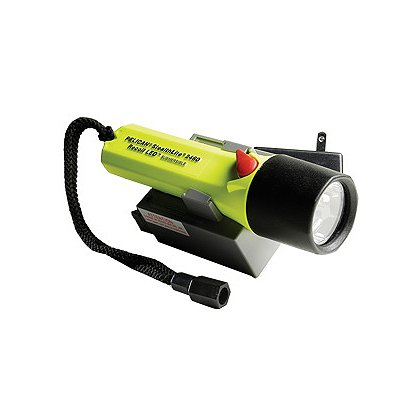 Pelican 2460 StealthLite Rechargeable LED Flashlight, 4 AA NiMH Battery Pack, 183 Lumens