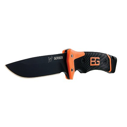 Gerber Bear Grylls Ultimate Pro Fixed Blade, Fire Starter, Sharpener, Whistle on Lanyard, Sheath
