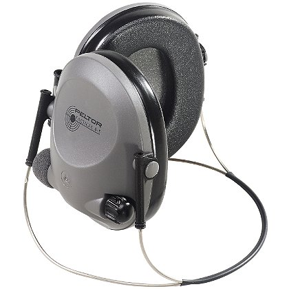 3M Peltor Tactical 6S Hearing Muffs, Gray Band