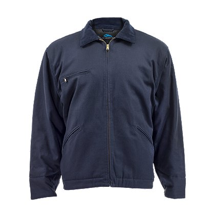 Tri-Mountain Station Job Jacket, Navy
