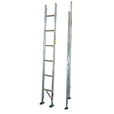 Duo Safety 585 A Aluminum Folding Closet Ladder