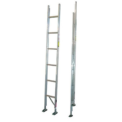 Duo-Safety 585-A Aluminum Folding Closet Ladder