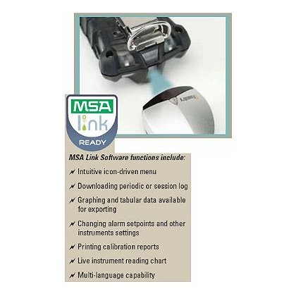 MSA FiveStar Link Data Logging Software