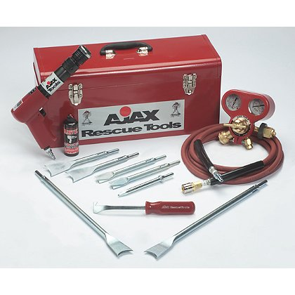 Ajax Rescue Tools 711-RK Standard Duty Air Hammer Rescue Kit