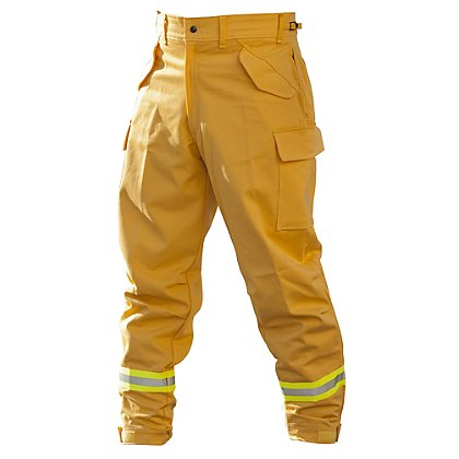 PGI Fireline Turnout Gear FireLine Wildland Overpant, Yellow Indura Ultra Soft