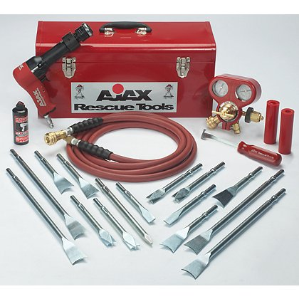 Ajax Rescue Tools 911-RK Super Duty Air Hammer Rescue Kit