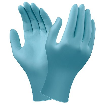 Ansell TNT Blue Disposable Nitrile Examination Gloves