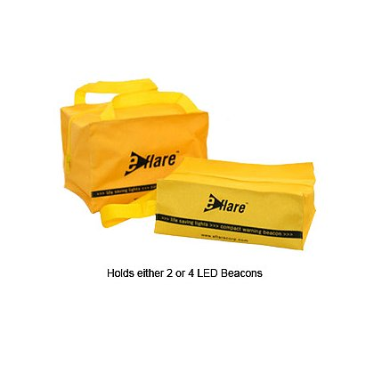 Storage Bags for 2 or 4 Eflare Flashing LED Beacon