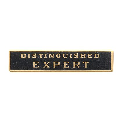 Blackinton Distinguished Expert Enamel Marksmanship Bar