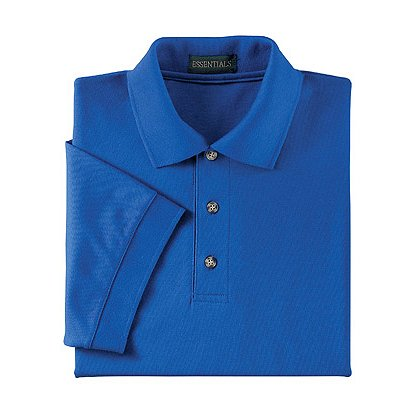 Ash City Men's Pique Polo, Short Sleeve