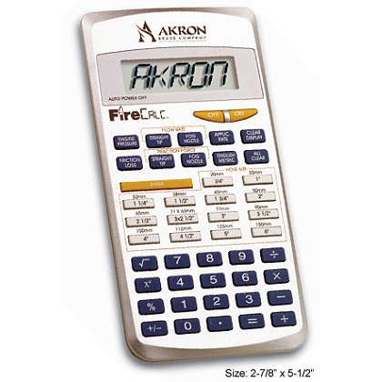 Akron FireCalc 9900 Pocket Calculator