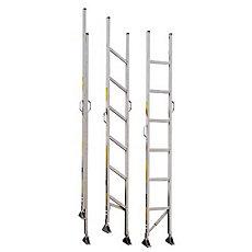 Alco Lite Folding Aluminum Closet Ladder