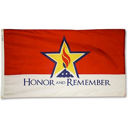 Annin Flagmakers Honor and Remember 3' x 5' Nyl-Glo Flag