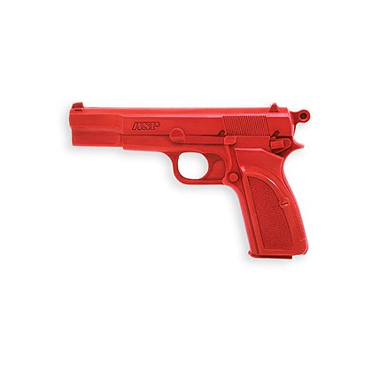 ASP Red Training Gun Browning High Power