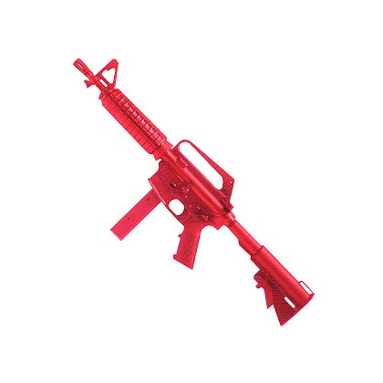 ASP Red Training Gun Government SMG