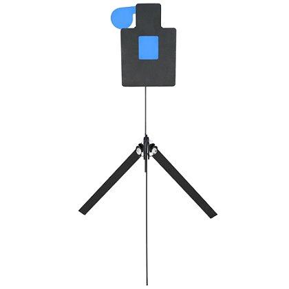 Action Target Reactive Standard AR500 Steel Rimfire Tactical Hostage Practice Target