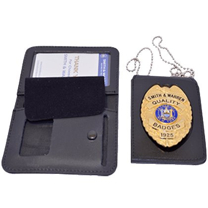 Smith & Warren 4 in 1 Badge Case with Single ID Window