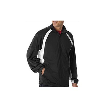 Badger Sport Brushed Tricot Full-Zip Light Weight Jacket