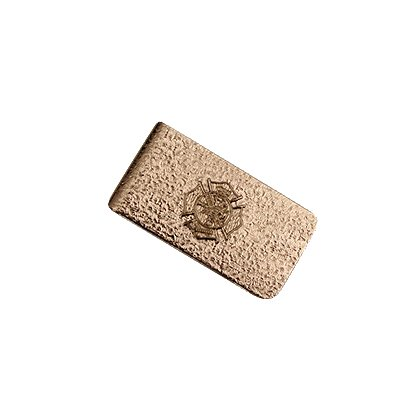 Blackinton Money Clip with Raised Maltese Cross Emblem