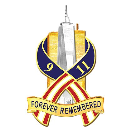 Blackinton 911 Forever Remembered Pin