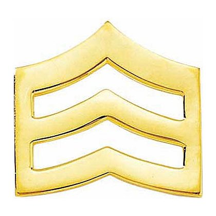Blackinton Large Smooth Sergeant Chevron