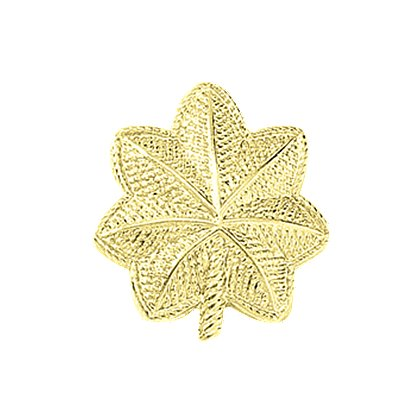 Blackinton Embossed Major Leaf Pin