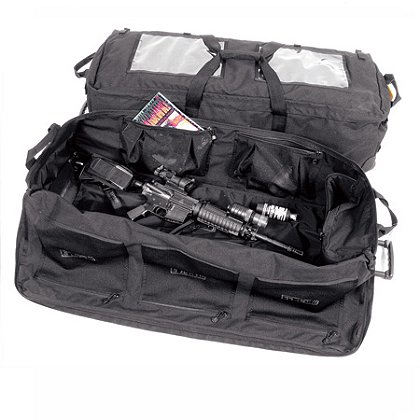 Blackhawk A.L.E.R.T. Load Out Bag With Wheels, Black