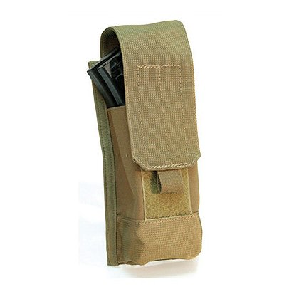 Blackhawk S.T.R.I.K.E./MOLLE AK/M4 Single Mag Pouch, Speed Clip